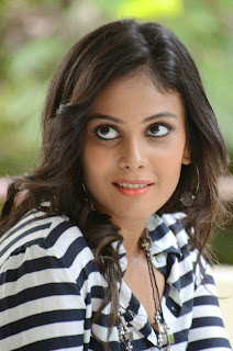 Actress Chandini Latest Pictures in Jeans at Kiraak Release Date Announcement Press Meet 0019
