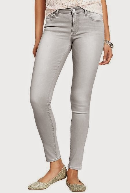 Grey Rockstar Jeans from Old Navy