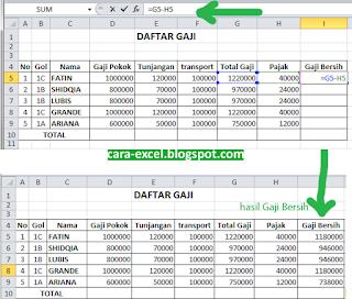 VLOOKUP dan HLOOKUP di Excel