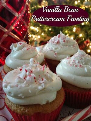 Vanilla Bean Buttercream Frosting