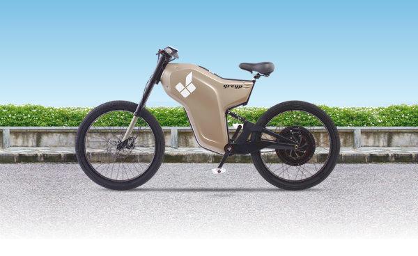 Rimac Greyp G12 Electric Bike Spicytec
