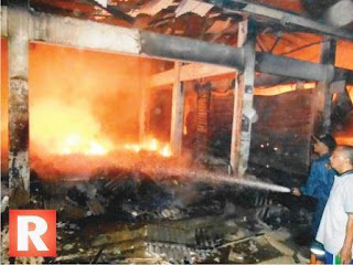 Polres: Kebakaran di Pasar Pagaden Subang Hanguskan 120 Kios