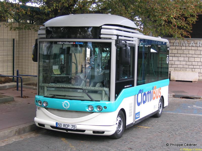 Les tramways m tro rer bus de la ratp bus clamibus 579 - Ligne 118 bus ...
