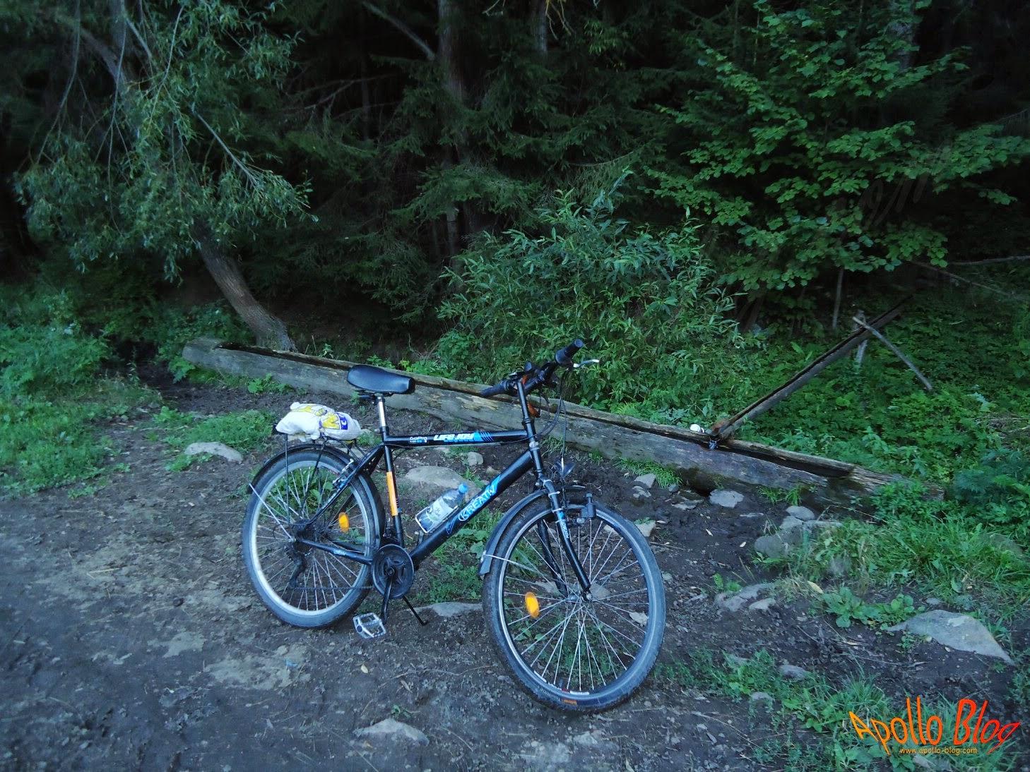 Bicicleta langa troaca