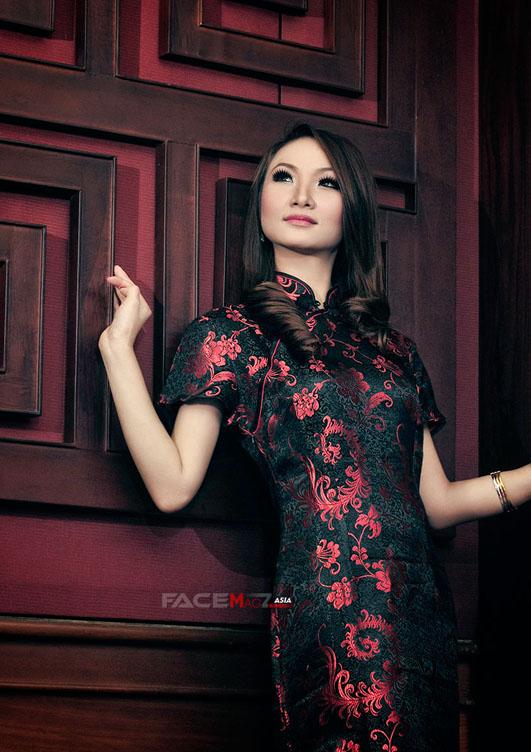 Foto Hot dan Montok Lexa Edwina Felcia in Lingerie for FaceMagz
