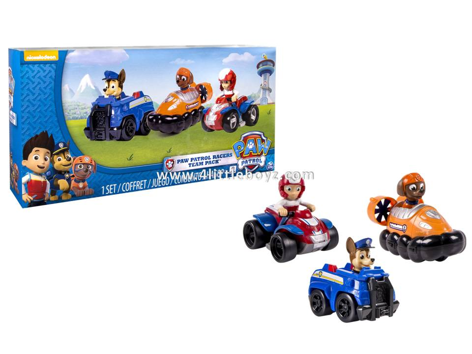 Chase Ryder Paw Patrol Action Pack Pups 3pk Figure Set Marshall