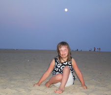 Chloe under the Moon on the Outer Banks!