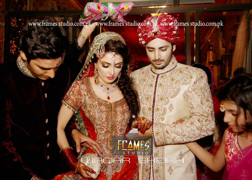 Celebrity Weddings Ayeza Khan Aiza Khan Amp Danish