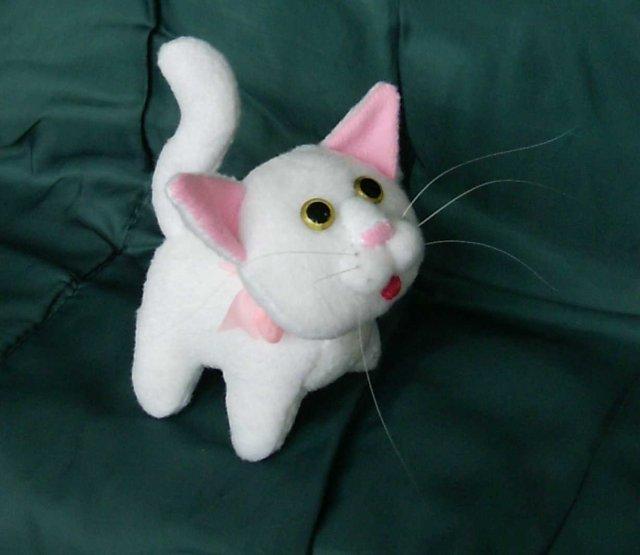 Игрушка кота своими руками фото