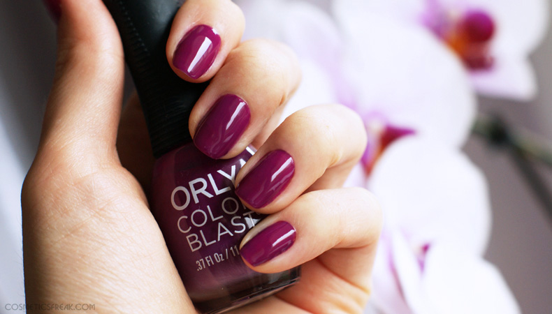 nail polish orly color blast fashion district