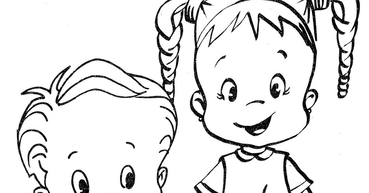 Escuela y Salud: Regreso a la escuela dibujo para colorear