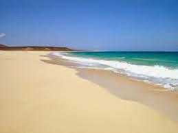 Las playas de Corralejo en Canarias