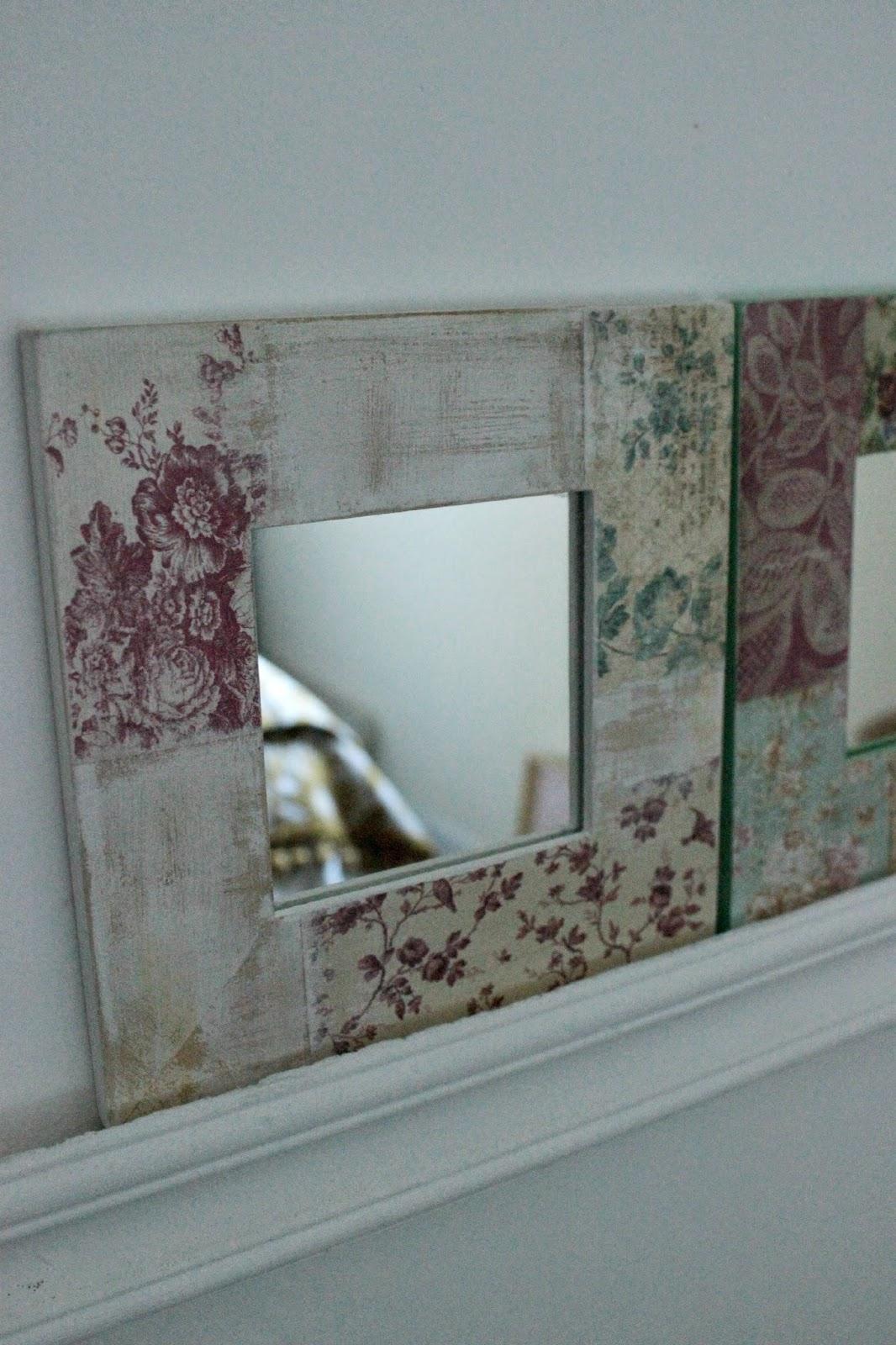 Tienda la florinda espejitos cuadrados for Espejos con marcos decorados