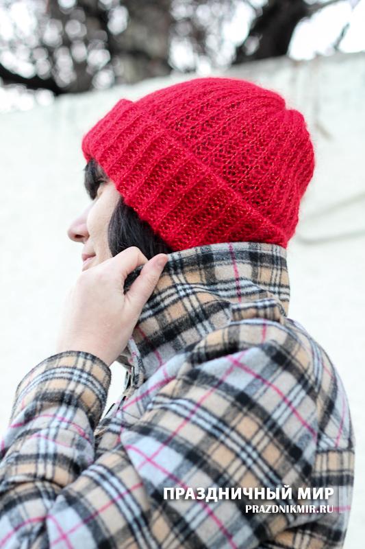 купить шапку, связять самой