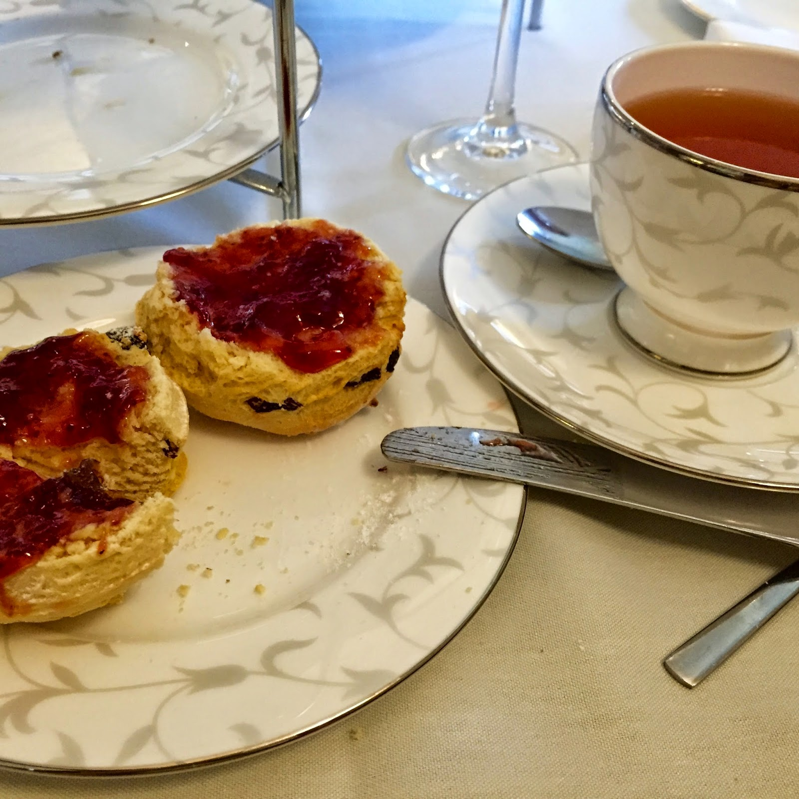 south lodge hotel afternoon tea review blog
