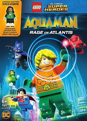 LEGO DC Aquaman Rage Of Atlantis 2018 DVD R1 NTSC Latino
