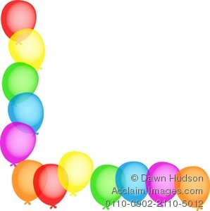 Balloon Borders Clipart1