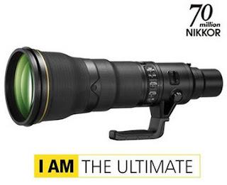 nikon longest lens