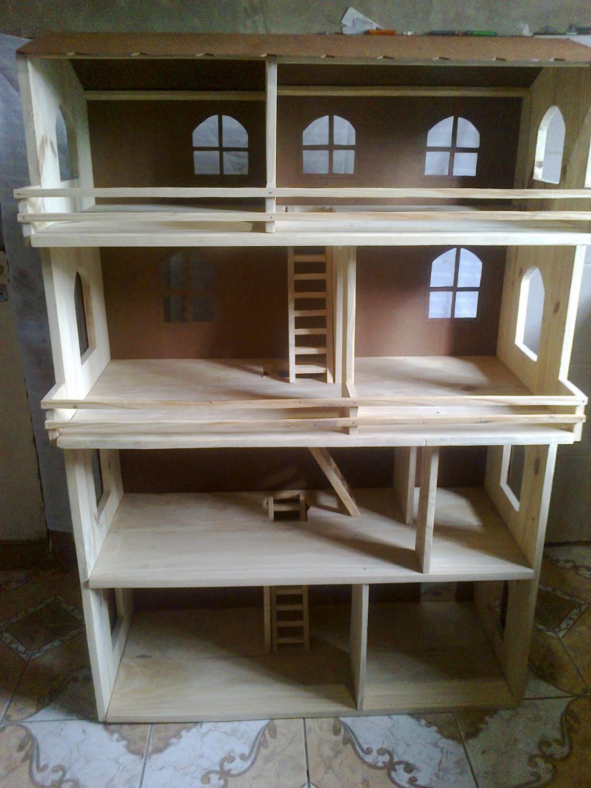 Mini muebles y accesorios miniatura para barbie nuevos modelos de muebles miniaturas y casas - Casas en miniatura de madera ...