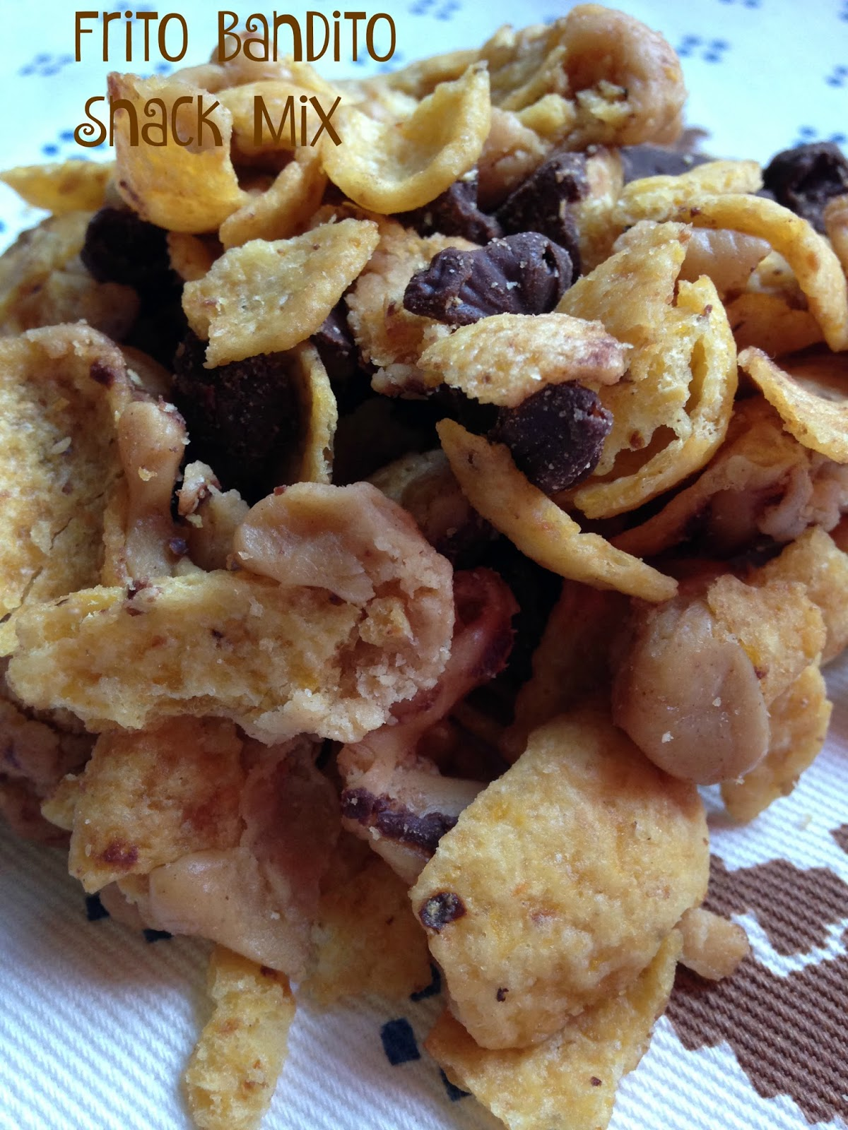 Turnips 2 Tangerines: Frito Bandito Snack Mix or Bars