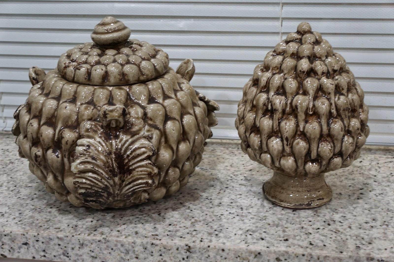 conjuntinho de pinhas - loja Flor de Malagueta