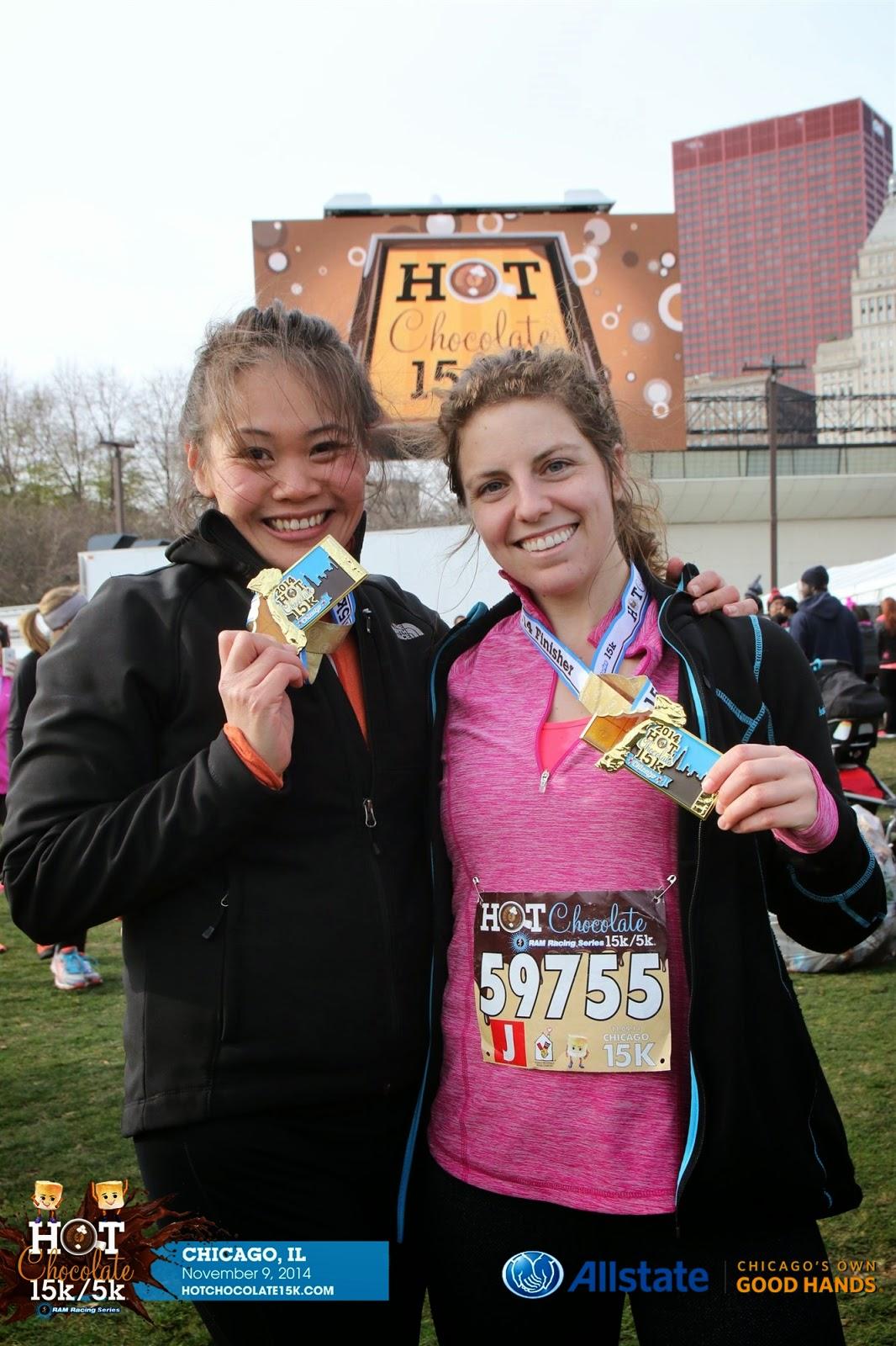 Race Recap: Hot Chocolate 15k | Adventures with FitNyx