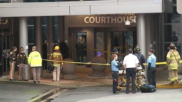3 Dead in Courthouse Shooting in Delaware