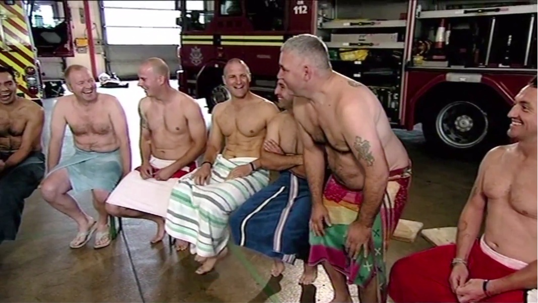 Sexy men firefighters naked authoritative