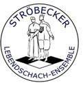 Emblema del ajedrez viviente de Ströbeck