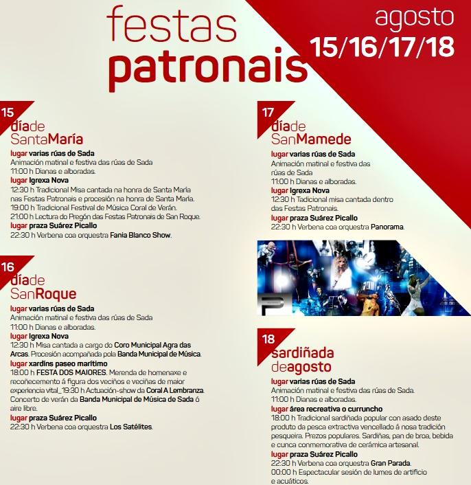 FIESTAS PATRONALES DE SADA