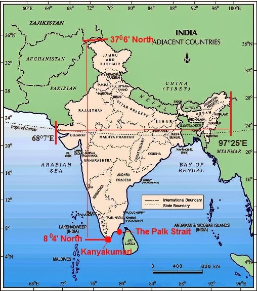 Chapter 1 India : Size and Location |CBSE Class 9th Geography