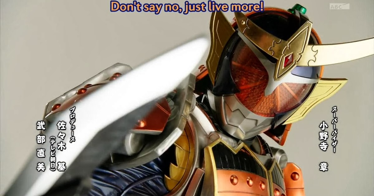Kamen Rider Gaim Episode 20 Preview Jefusion Rider Preview Kamen