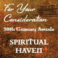 Outstanding Reviews and Honored Distinctions For Spiritual Haven Album....