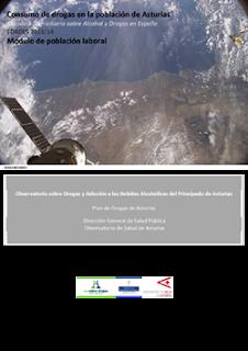 Fotografía auero‐espacial de Asturias. NASA