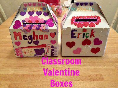 the young and the relentless classroom valentine boxes