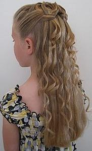 Peinados, Niña de la Flores, Cabello Largo, parte 2