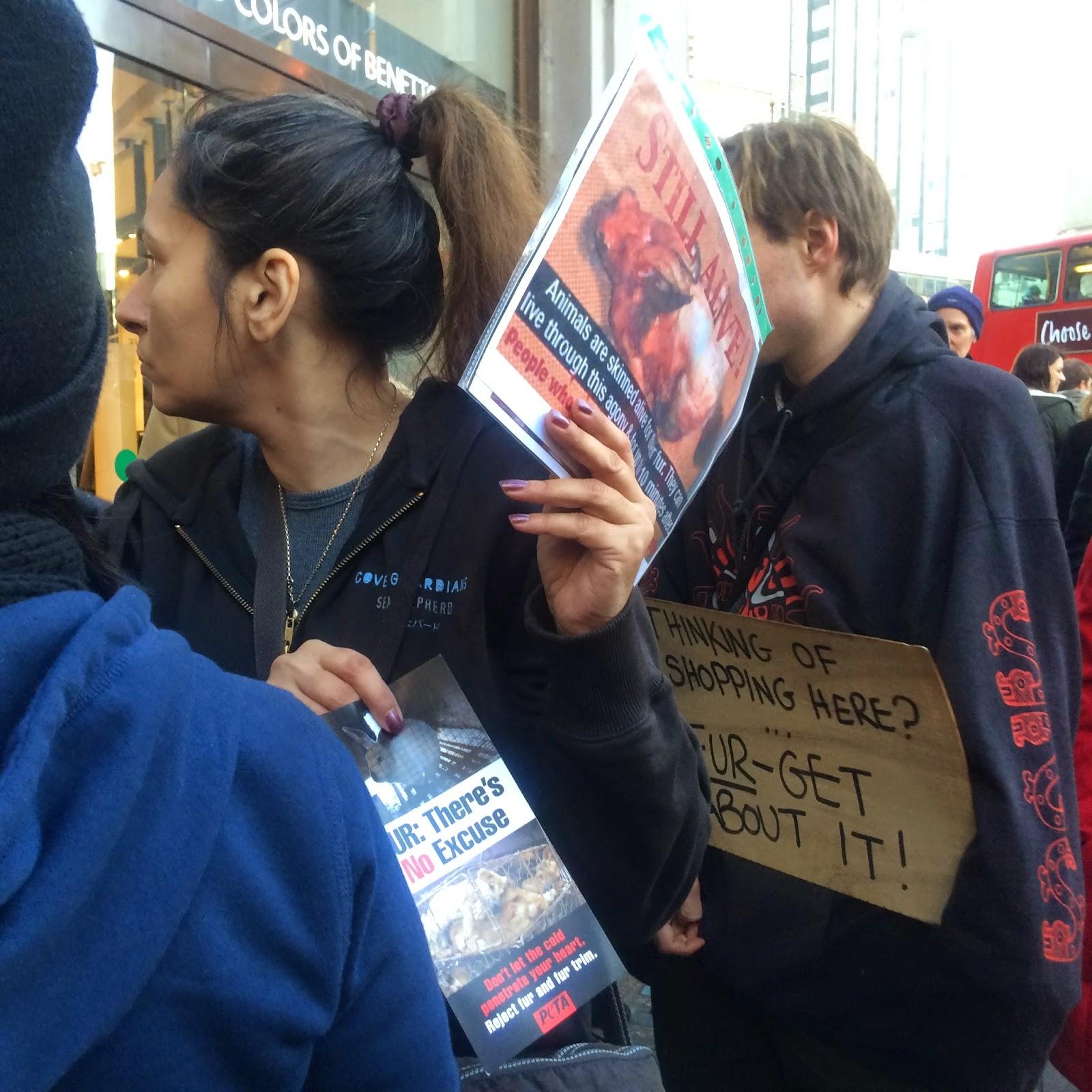 Fur Trade Protest