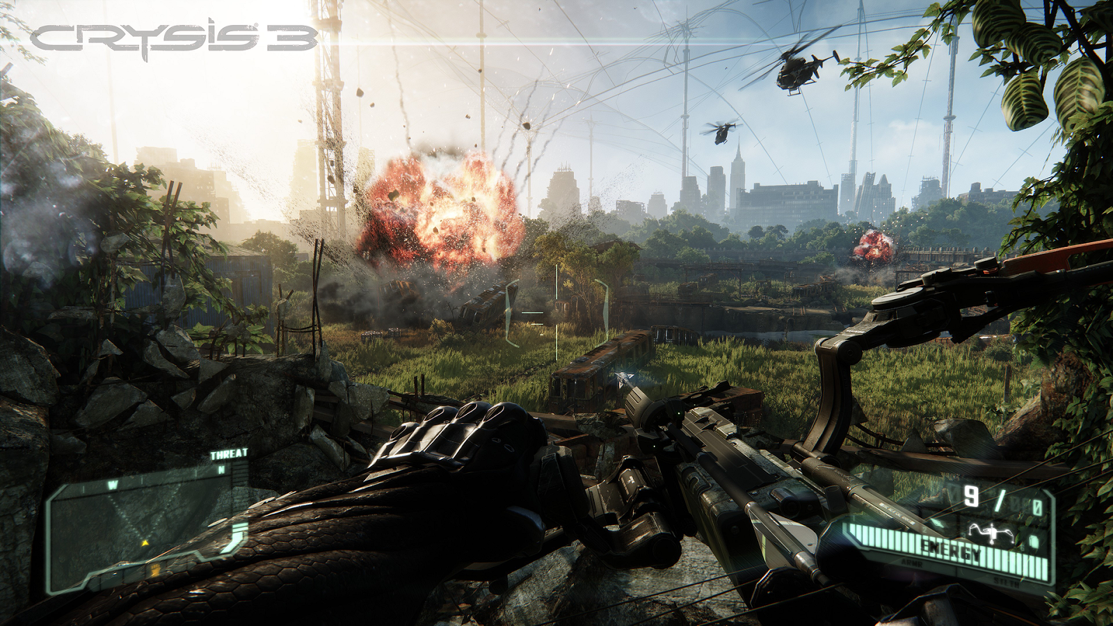 Crysis 3 Screen Shots, Wallpapers