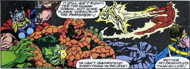 Fantastic Four 370 Thing
