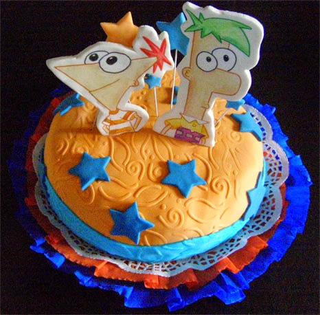 Tortas de Phineas y Ferb, parte 2