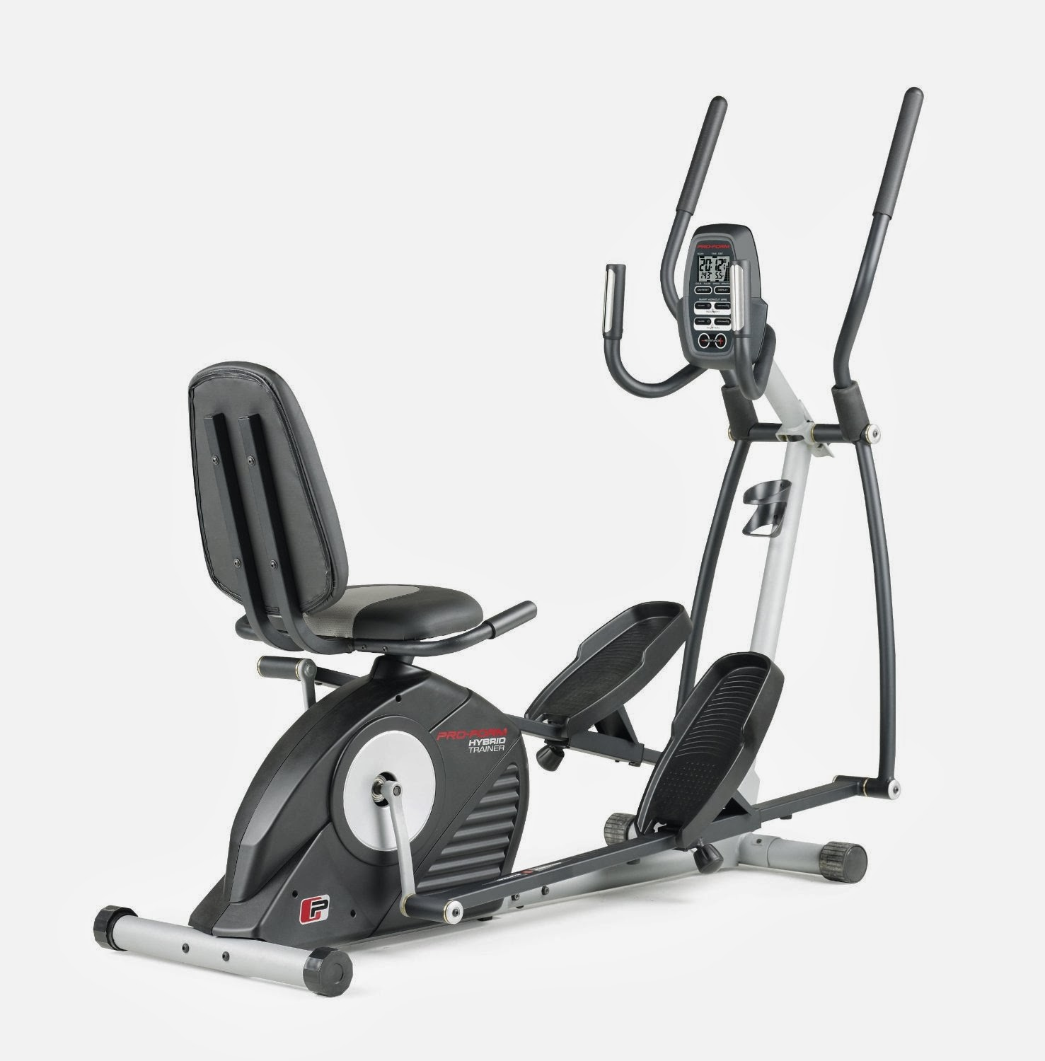 exercise bike zone proform hybrid trainer recumbent