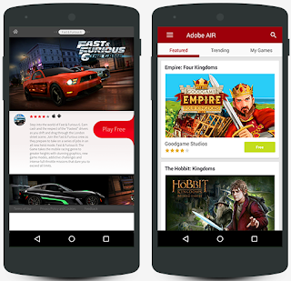 Preview Adobe AIR Apk | Andromin