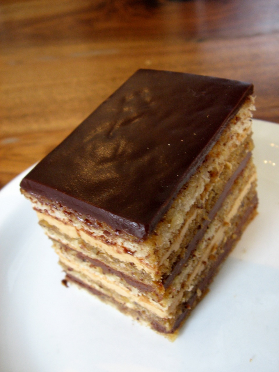 Opera Cake Great British Bake Off