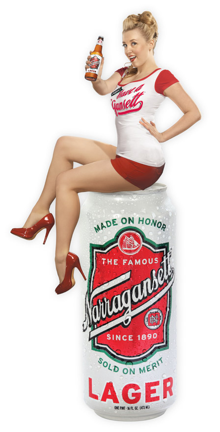 grew ice cold narragansett beer narragansett beer