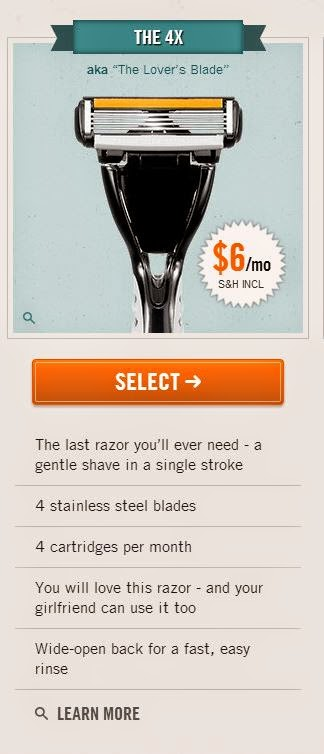 how to get signed with one dollar shave club