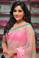 Rashmi Gautam Latest 2016  Stills In Pink Saree (9).JPG