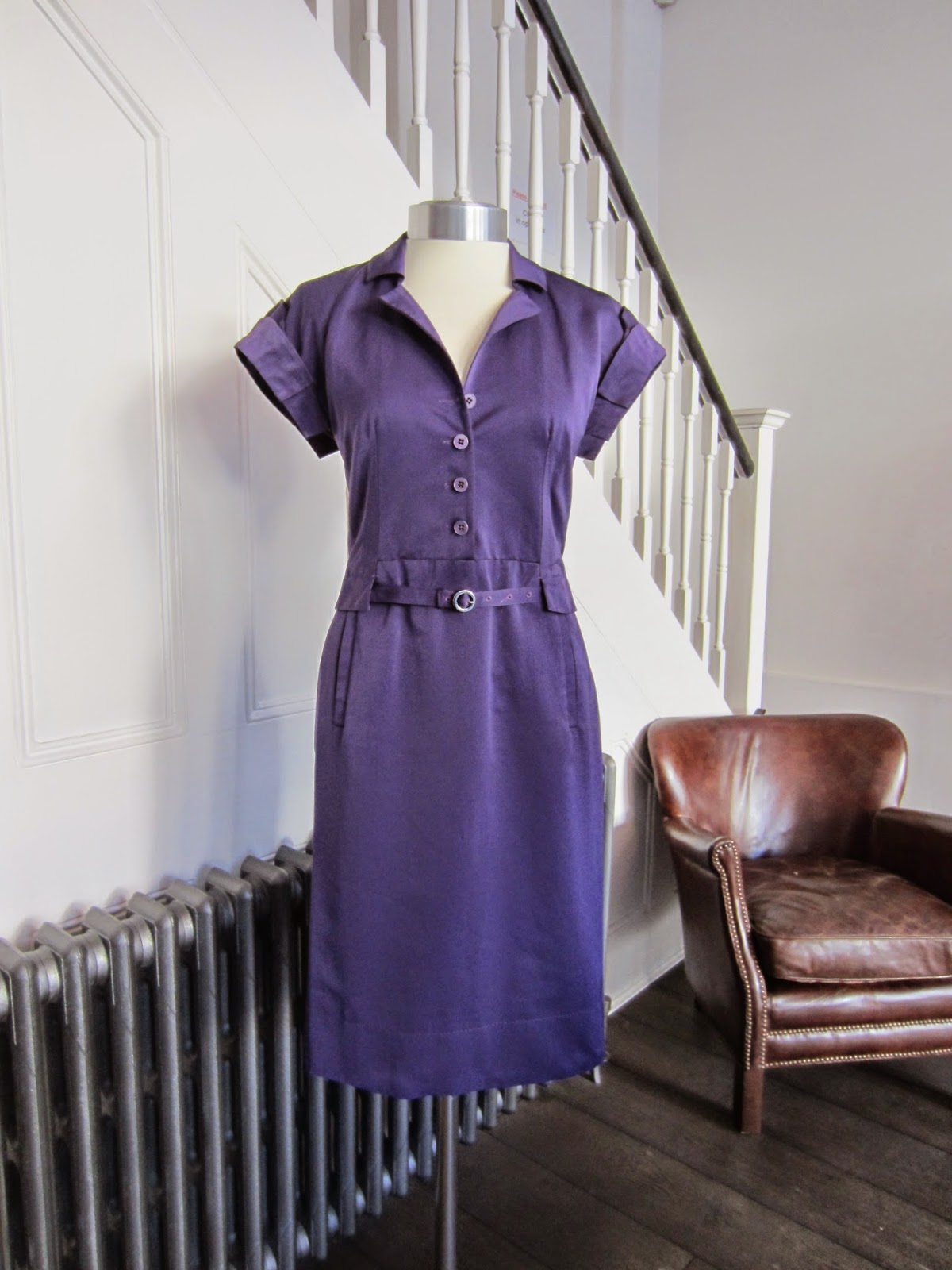 Boss/Hugo Boss Purple Dress