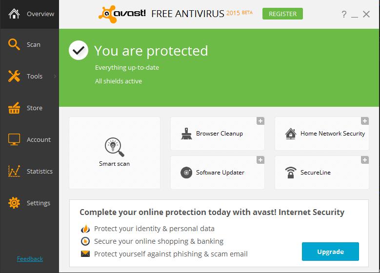 clear avast antivirus