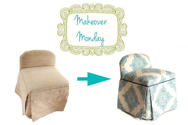 re-purposed furniture, Vanity stool makeover, 80's stool becomes modern, re-purpose vintage furniture