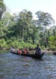 Lata Berkoh-by boat